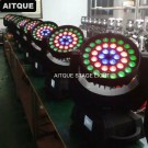 36pcs led moving head zoom with circle effect