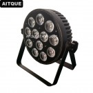 12x8w rgbw 4in1 led flat par can