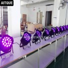 18pcs led zoom par